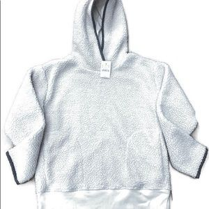 Crewcuts Sherpa Hoodie Pullover New